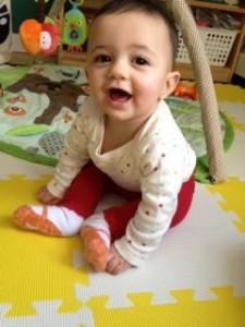 Eliana, my happy little lady!