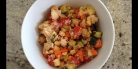 Vegetable and Quinoa Salad from teeny tiny foodie
