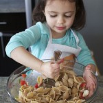 Eliana, teeny tiny sous chef and chief inspiration at teeny tiny foodie.com. Photo credit to Cortney Nicole Photography