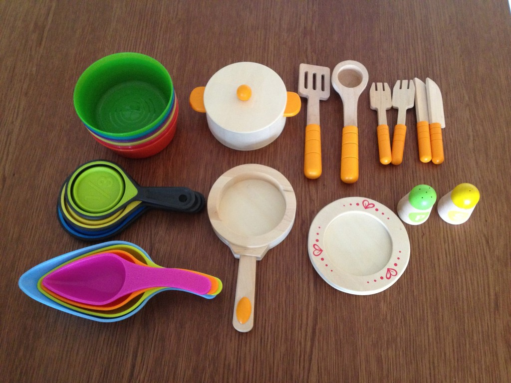Her utensils and tools.