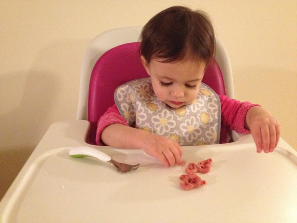 Pink pasta?Hmm...