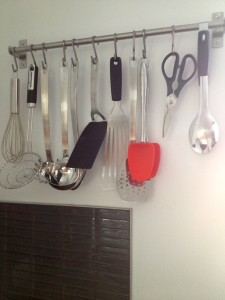 Hanging these essential tools saves me a lot of space