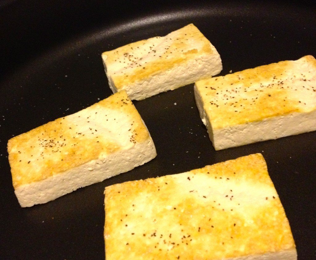 Pressed and Seared Tofu