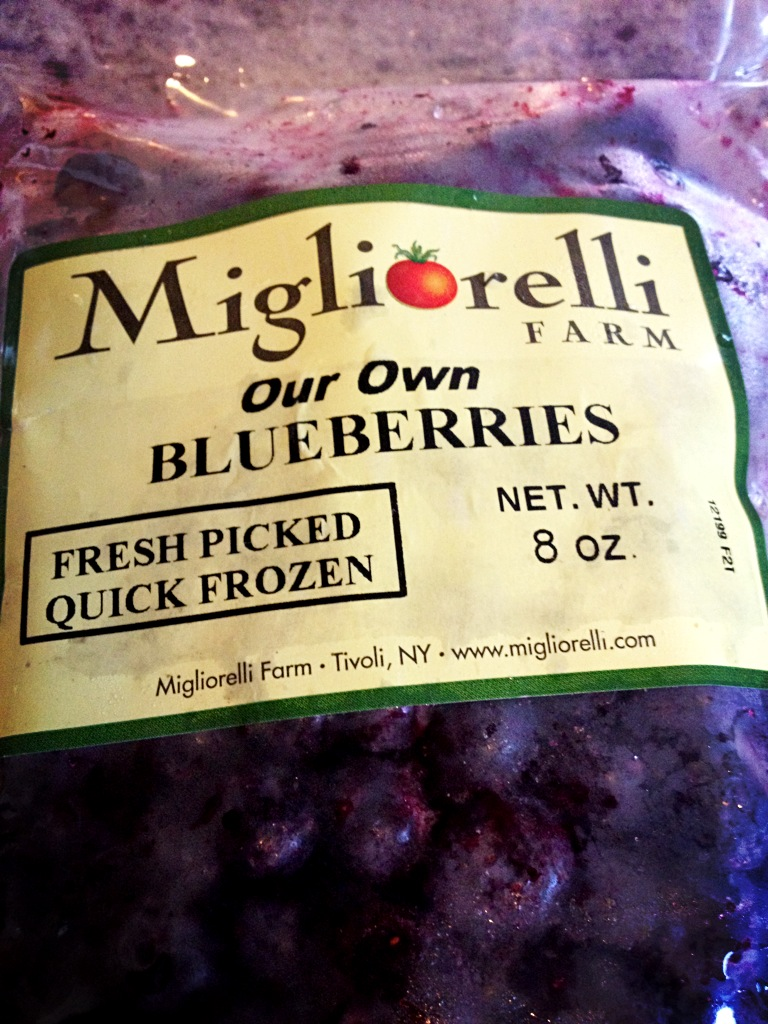 I LOVE that one of the local farms from my farmer's market sells their frozen produce. Brilliant!