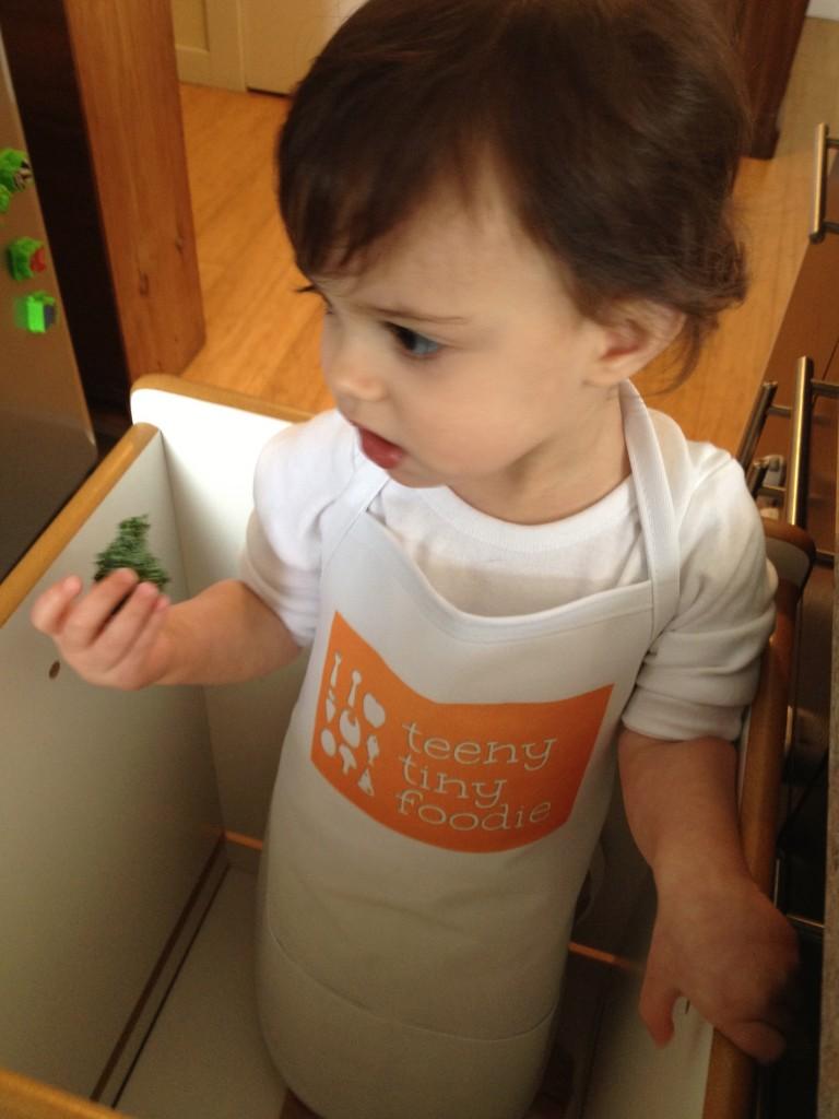 Nice apron, huh?