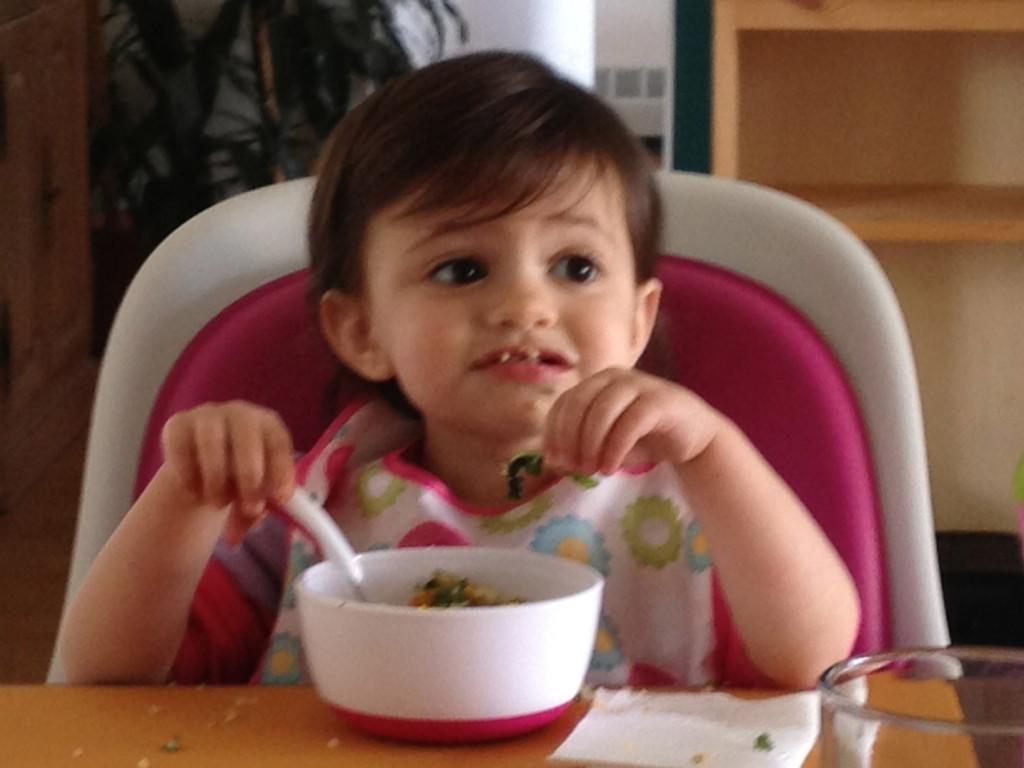 Kee-nah! (Quinoa) Ah-nya! (Onion) Ackle! (Broccoli)