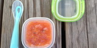 Stone Fruit & Sage Baby Food Puree
