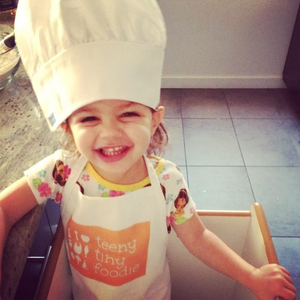 My teeny tiny sous chef