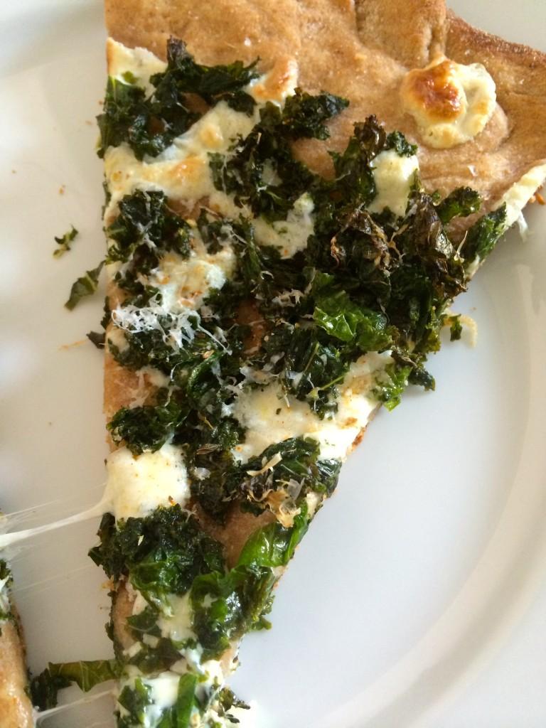 Lemony Kale Pizza