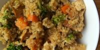 Sesame Quinoa Bowl