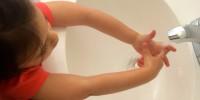 Proper hand washing (Source teenytinyfoodie.com)