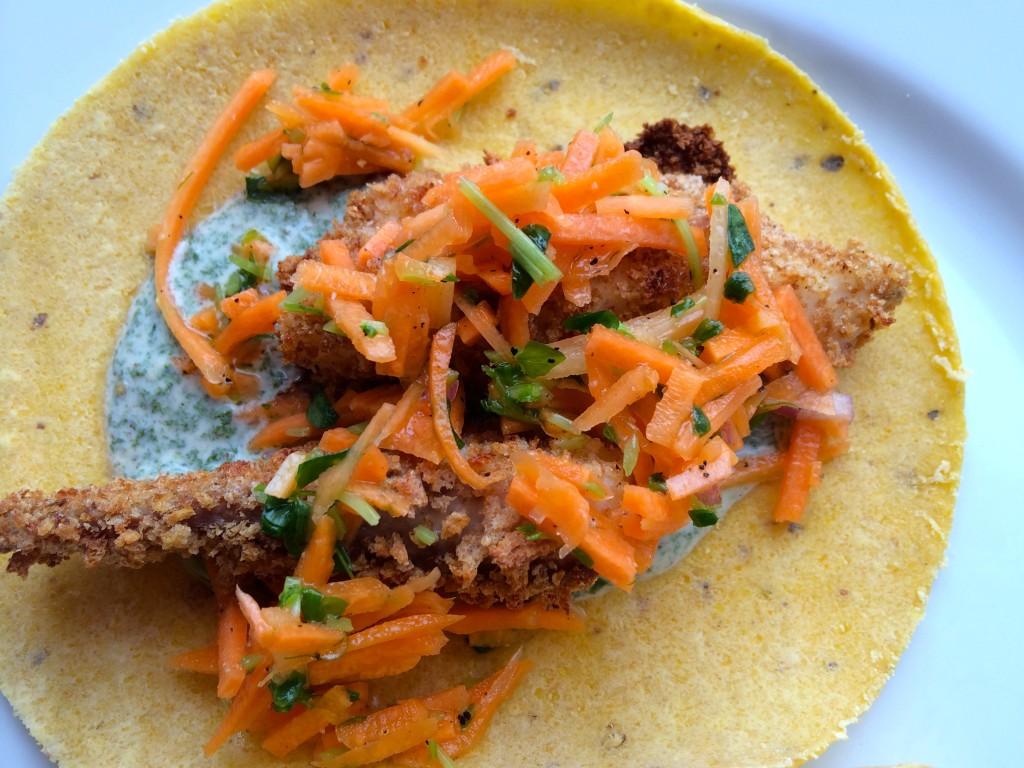Fish Stick Taco