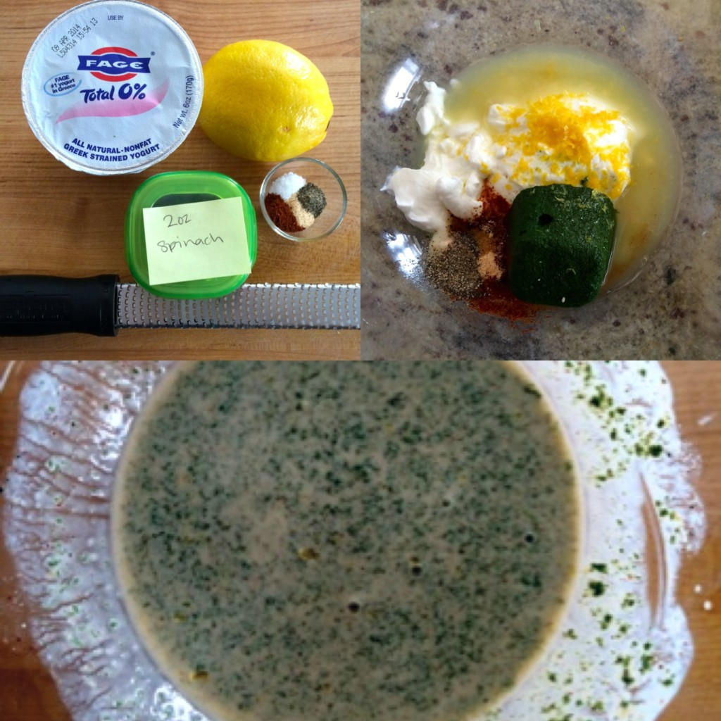 Creamy Spinach Dressing