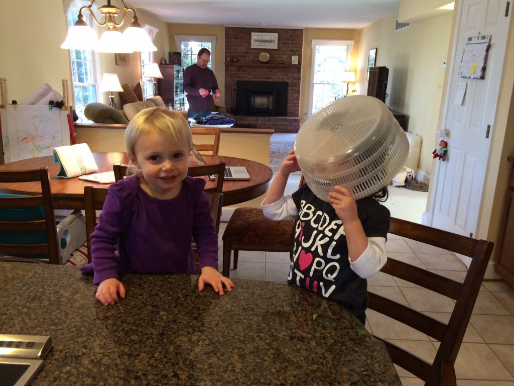 Silly toddlers in the kitchen from teeny tiny foodie