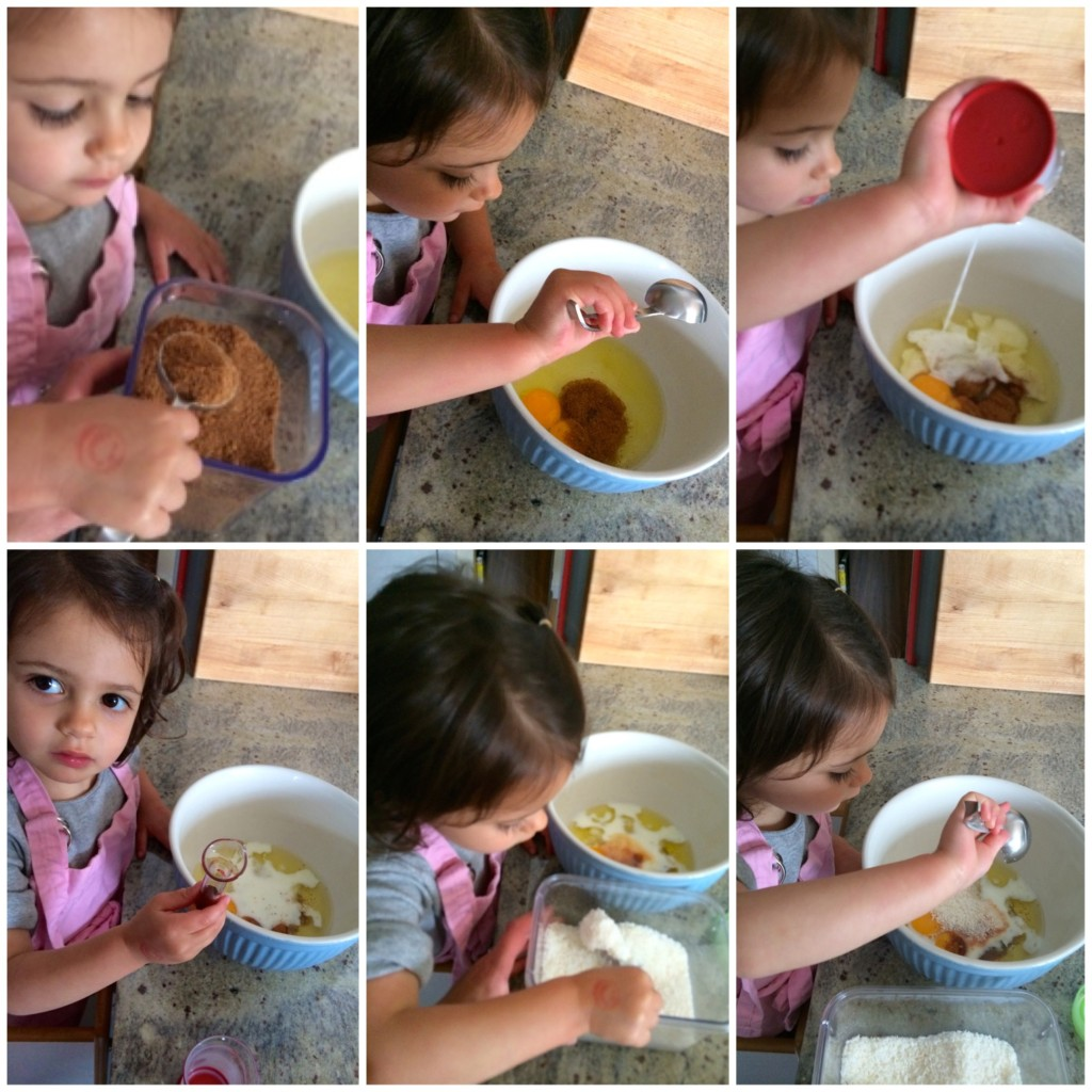 Cooking together using math skills from teeny tiny foodie