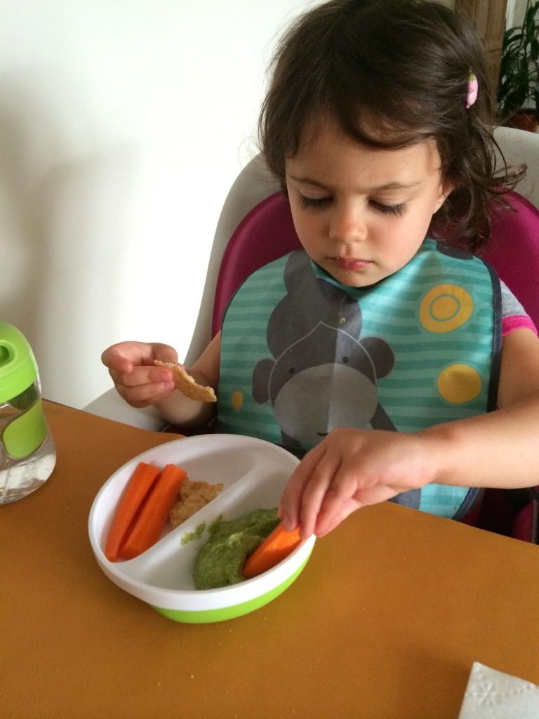 Green Hummus from teeny tiny foodie