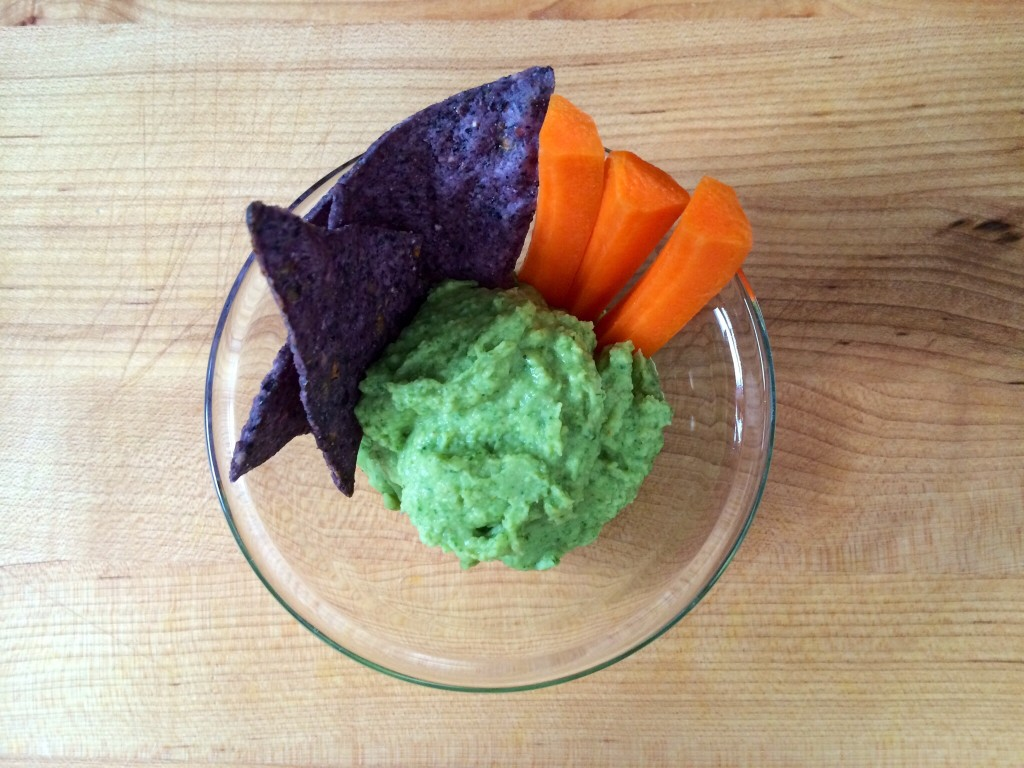 Green Hummus from teeny tiny foodie