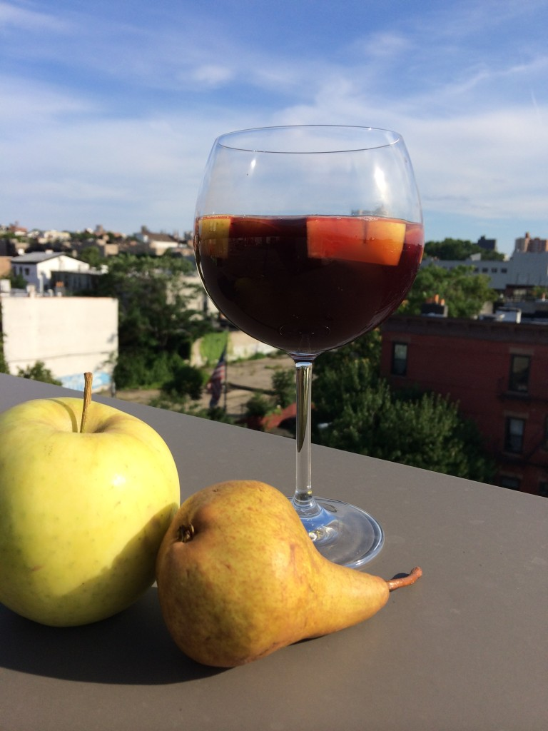 Super Simple Sangria from teeny tiny foodie