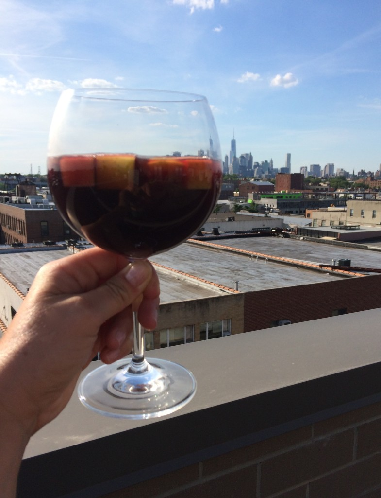 Cheers! Super Simple Sangria from teeny tiny foodie