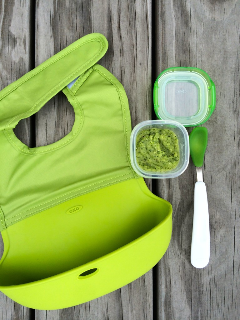 Zucchini Mint Purée from teeny tiny foodie