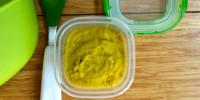 Yellow Squash and Tarragon Purée from teeny tiny foodie