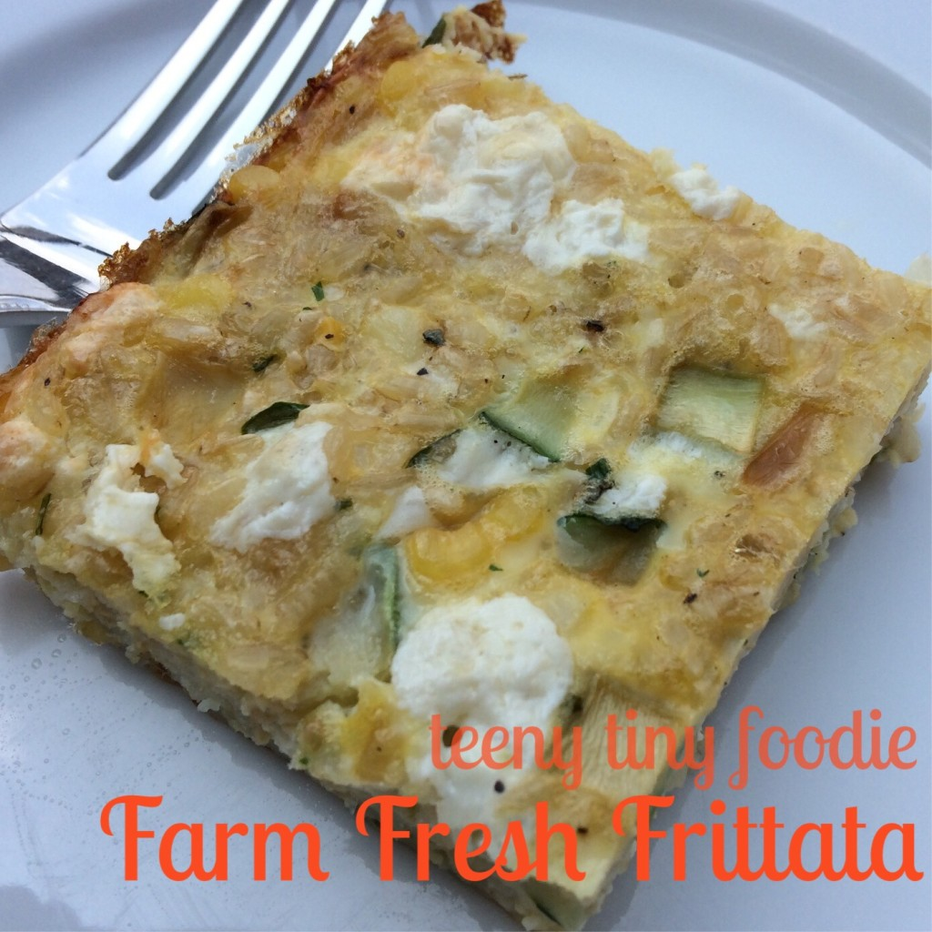 Farm Fresh Frittata from teeny tiny foodie