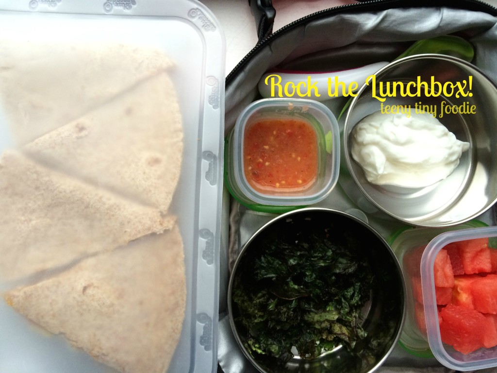 Rock the Lunchbox from teeny tiny foodie