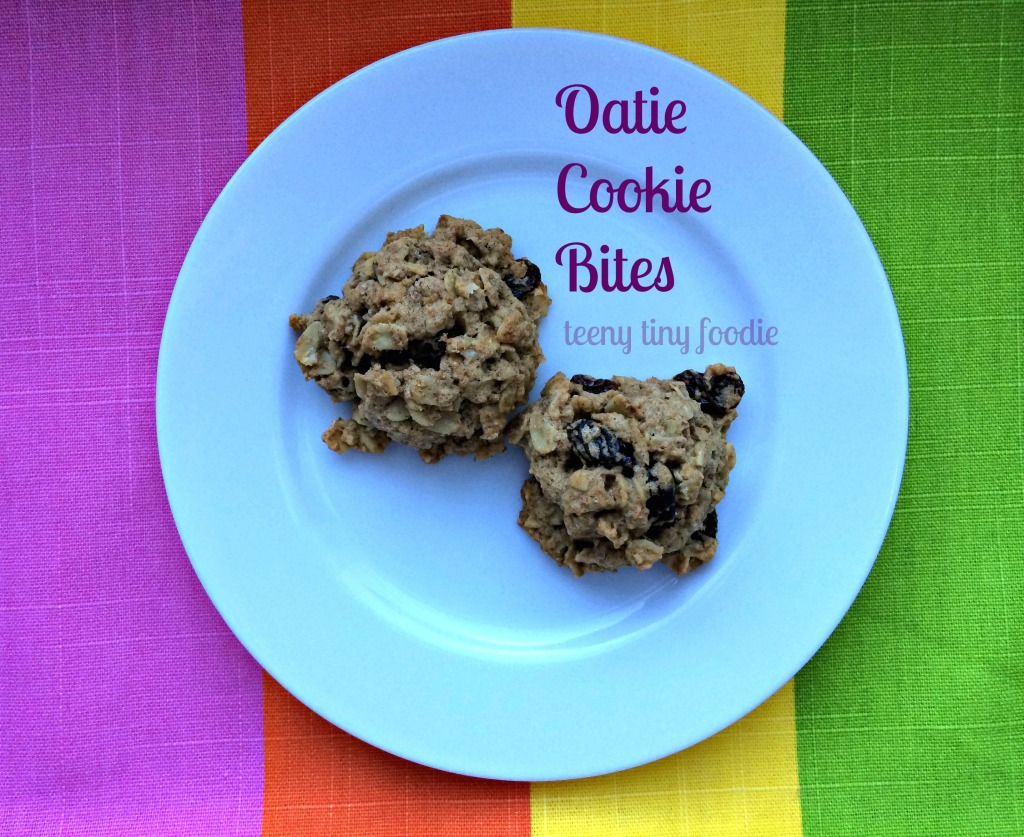 Oatie Cookie Bites from teeny tiny foodie