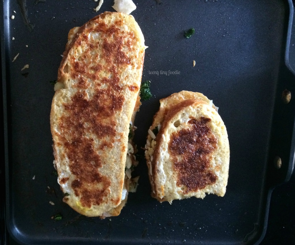 Eggy Bread Sandwich from teeny tiny foodie