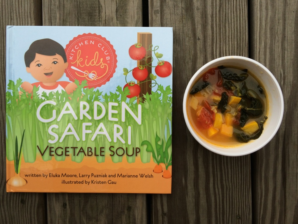 teeny tiny foodie's veggie soup inspired by the Kitchen Club Kids (from teeny tiny foodie)