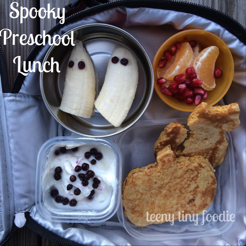 Spooky Preschool Lunch from teeny tiny foodie