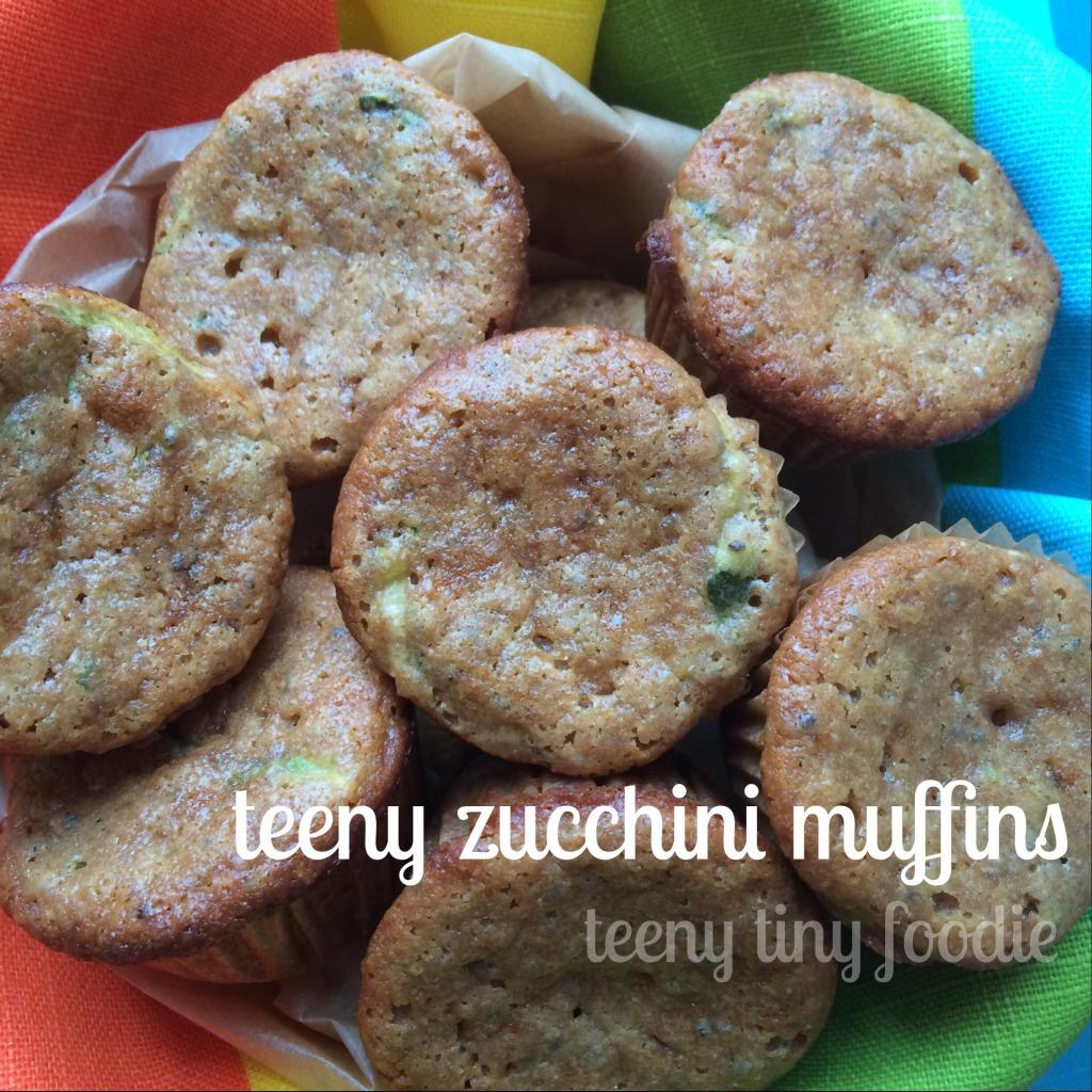 teeny zucchini muffins from teeny tiny foodie