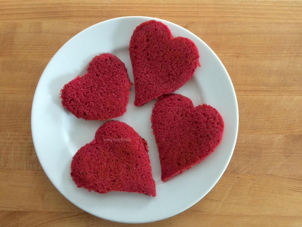 Pink Pancakes from teeny tiny foodie is being shared as part of the #LoveHealthy Veggie Love Campaign #beets #pancakes #healthy #veggies