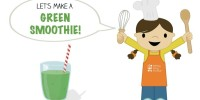 Let's Make a Green Smoothie! from teeny tiny foodie is a #free printable #toddler #recipe written for toddlers and kids to follow with minimal support from a grown up. #teenytinyfoodie  #VeggieLove #smoothie #recipeforkids #healthy #vegan #vegetarian #kidscancook #kidsinthekitchen #toddlerscancook #teenytinytoddlerrecipe #KidsCookMonday