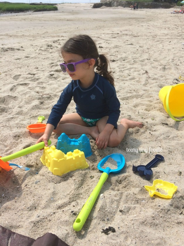 Fun in the sun at a local beach! #teenytinyfoodie