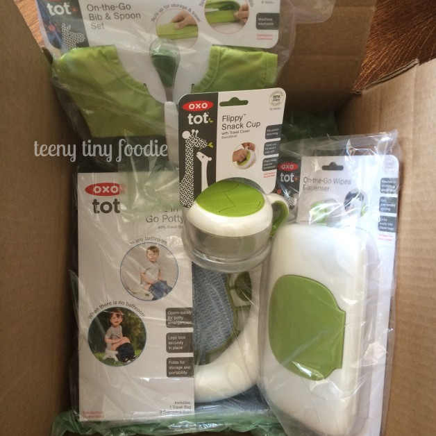 We're On the Go with OXO Tot! Learn about some of our favorite products for when we are out and about! from #teenytinyfoodie