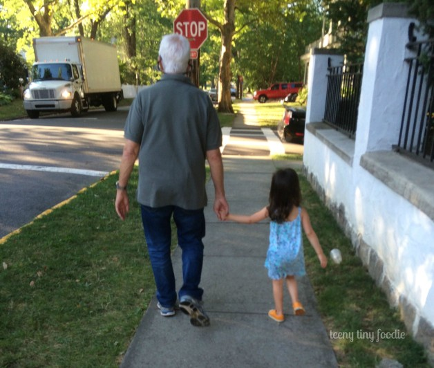 My dad with my daughter. #Love from #teenytinyfoodie