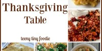 5 Meat Free Recipes for Your Thanksgiving Table from teeny tiny foodie is a round up of tasty recipes that both vegetarians and meat eaters will love. #teenytinyfoodie #Thanksgiving #vegetarian #vegan #plantbased