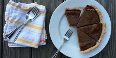 Cinnamon Squash Pie from teeny tiny foodie
