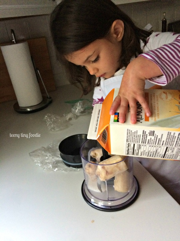 Sometimes it feels like the 4 year old doesn't need me in the kitchen anymore. from teeny tiny foodie